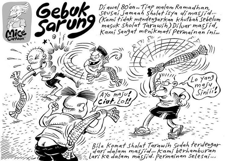 Mice Cartoon, Kompas Minggu, 04.08.13: Gebuk Sarung