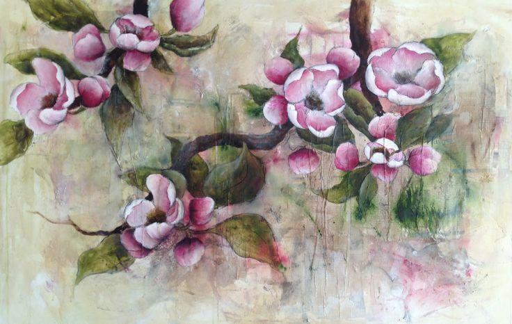Atelier Anita Hörskens:  Voll Blüten steht der Apfelbaum....