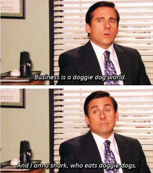 "He was a business guru. | Community Post: 82 Reasons Why ""The Office's"" Michael Scott Was The World's Best Boss"