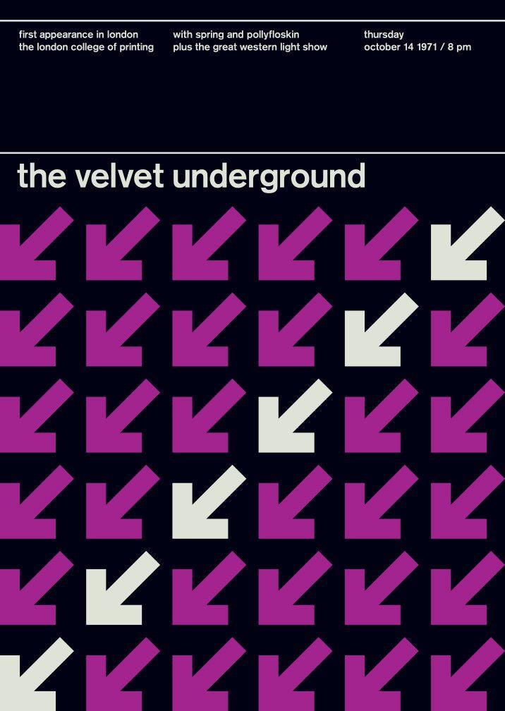 the velvet underground in london, 1971 | Swissted