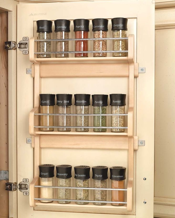 Spruce Up Your Kitchen With These Cabinet Door Styles: Best 25+ Large Spice Rack Ideas On Pinterest