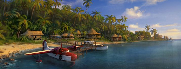 Sully's Dock from Uncharted: Drake's Fortune