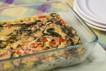 MEDITERRANEAN VEGETABLE FRITTATA Recipe - Panasonic INVERTER® Microwave Ovens