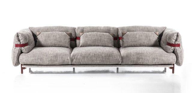 Moroso divano belt composizione lineare design patricia for Canape urquiola