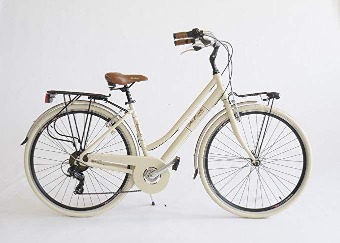 Damenfahrrad 605a Made In Italy Via Veneto Damen Beige Cappuccino Amazon De Sport Freizeit Damenfahrrad Fahrrad Klapprad