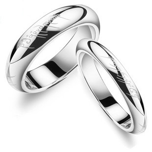 Matching Valentines Gift Pair Ring Set Couple Rings