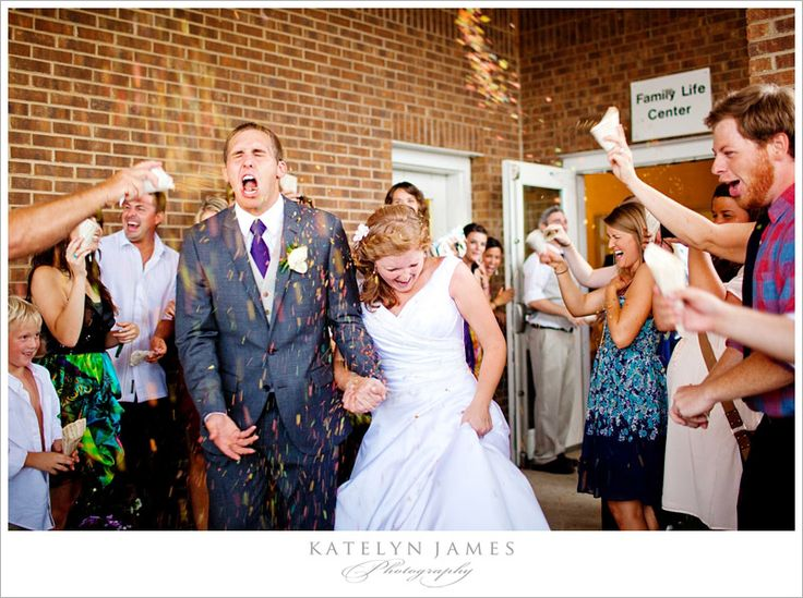Fruity Pebble Wedding Exit Send Off Lol And Awesome