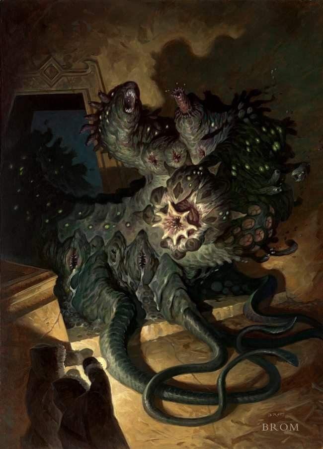 New creature discovery | Grotesque, macabre, morbid  in 2019