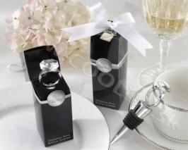 Darček Zátka na víno Svadobný prsteň http://www.coolish.sk/sk/originalne-svadobne-darceky/zatka-na-vino-svadobny-prsten