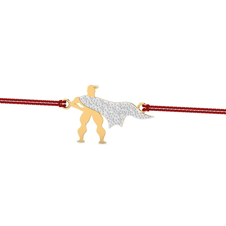 Superhero Kids Gold Rakhi -- A superhero kids gold rakhi with the cape studded in diamonds. This is a great choice for your kiddo brother this rakhi. He already can't get enough of the superhero stuff and your gift will just make his day brighter. Send him some smiles, send him this rakhi. - See more at: https://www.kuberbox.com/superhero-kids-gold-rakhi.html#sthash.69uSg2Hr.dpuf