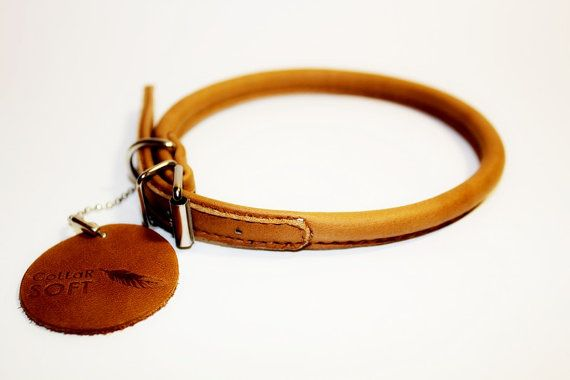 Top quality geniune leather Handmade Collar for long by TopPetShop, $11.99