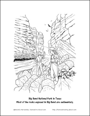 coloring pages rocks soil water | 8 Worksheets That Will Teach Your Child Basic Geology ...