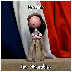 eponine les miserables eva noblezada peg doll from fabi dabi dolls available now on ebay