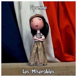 eponine les miserables eva noblezada peg doll from fabi dabi dolls available now on ebay