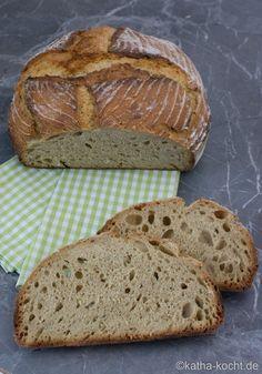 Emmer Brot aus dem Topf - Katha-kocht!