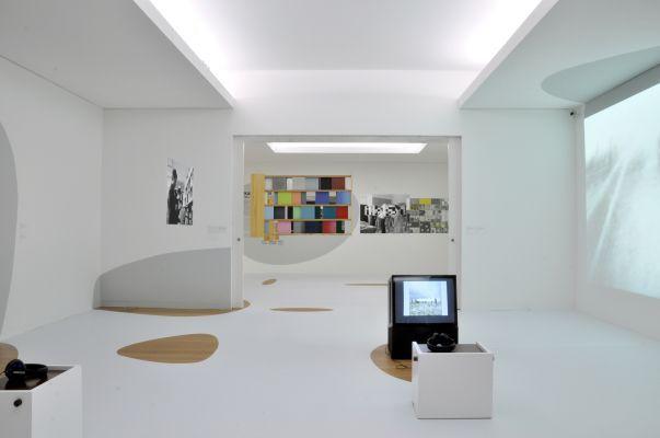 Oskar Hansen: OPEN FORM exhibition design, Serralves Museum of Contemporary Art, Porto