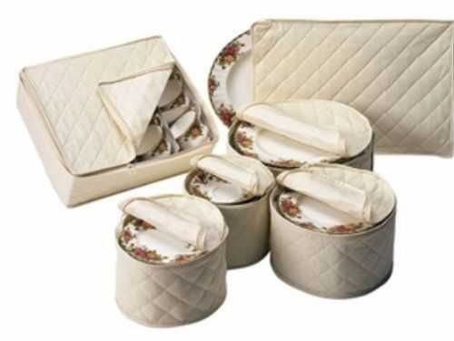 China Storage Quilted 6 Cases Cabinet Dishes Set Dinnerware Storages  Containers
