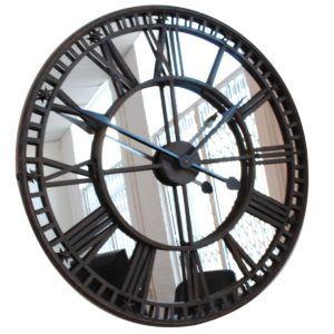 Giant Mirror Wall Clock
