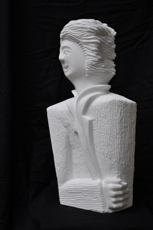 """Saatchi Online Artist: paolo figar; Stone, Sculpture """"Karlsbrücke"""""""