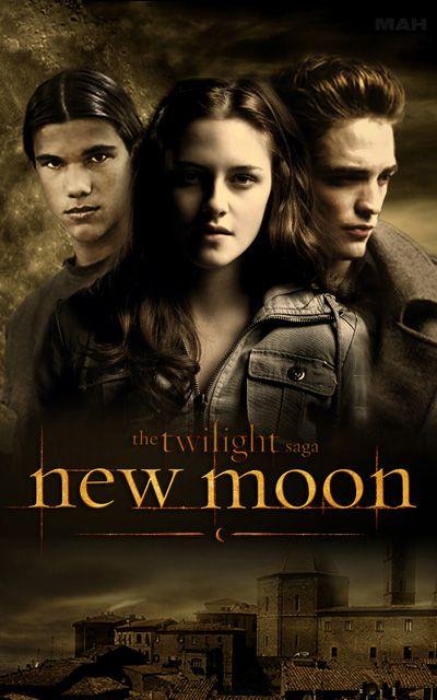 New Moon - book 2 in the Twilight Saga