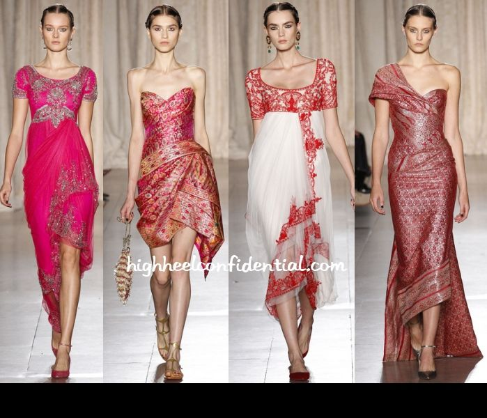 Sari Inspired Dress Images Galleries