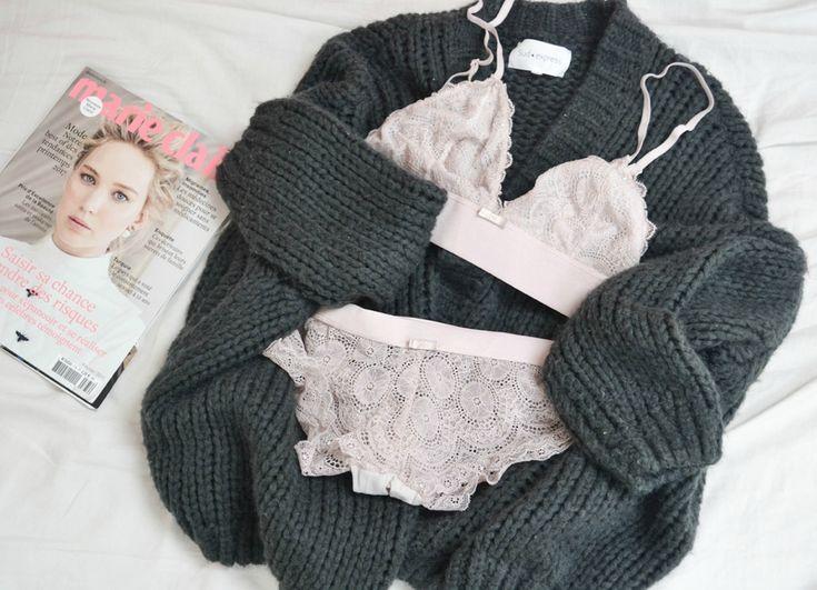 @styliz a shoppé ce petit ensemble de lingerie en dentelle pour 15€ chez BABOU.