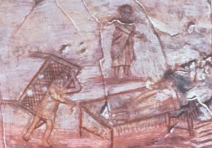 Guarigione Paralitico, Dura Europos