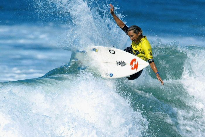 Former surfing World Champion Layne Beachley