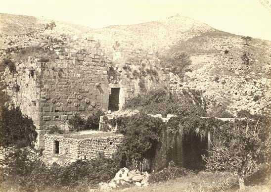 Francis Frith - Banias (The Ancient Caesarea Philippi), Palestine