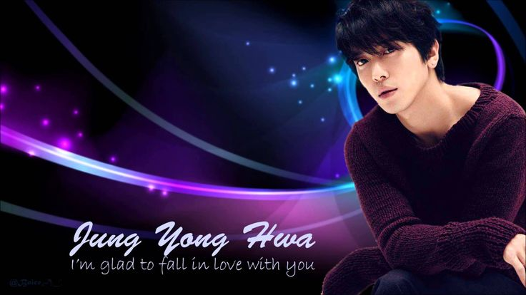 Jung Yong Hwa - I'm glad to fall in love with you [with English and Roma...