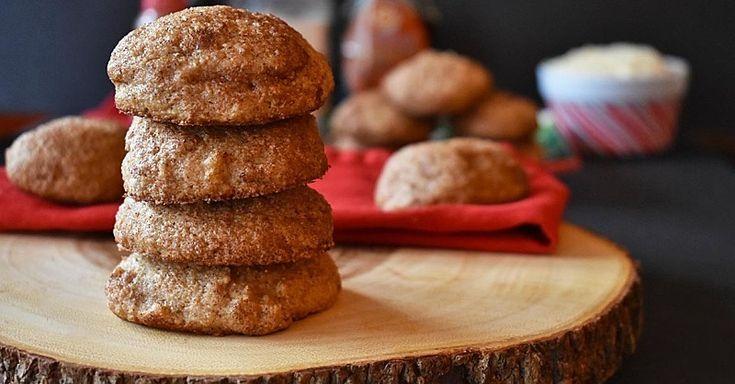 Diese Maple Snickerdoodle Cookies haben weniger als 100 Kalorien pro Portion