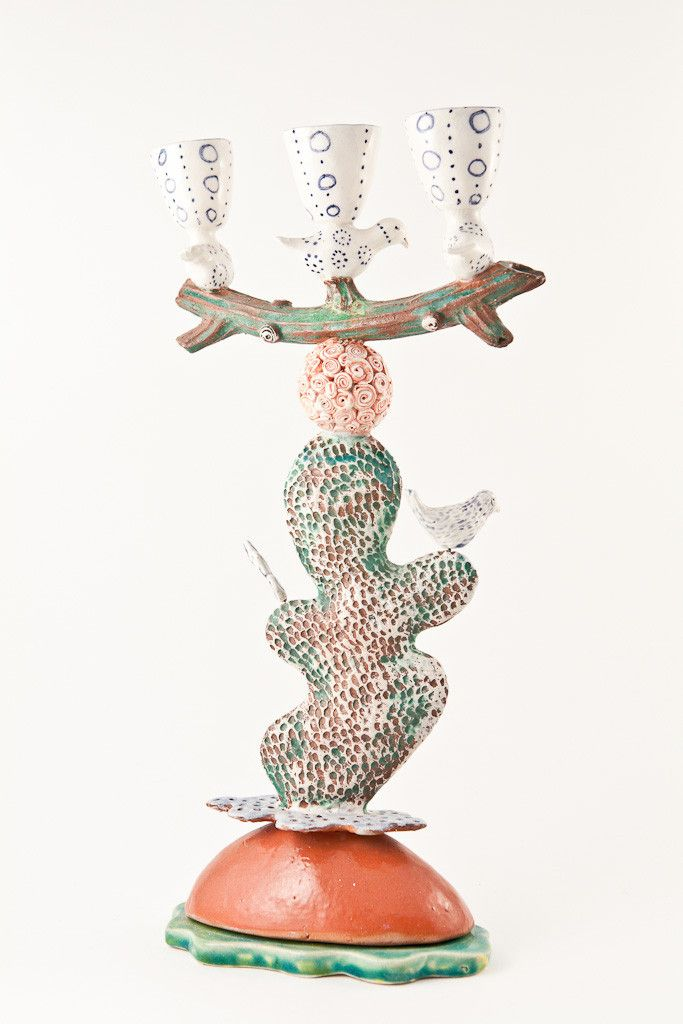 Dorothy Wightman — Laurence Simon - Bird Candle Stick