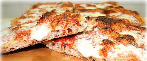 Pizza con lievito naturale di kefir