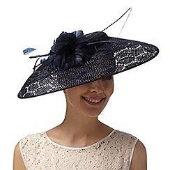 J by Jasper Conran - Designer navy honeycomb down brim hat