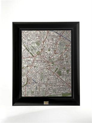 Dolce gabbana mirror map specchio rettangolare fran ois for Specchio philippe starck