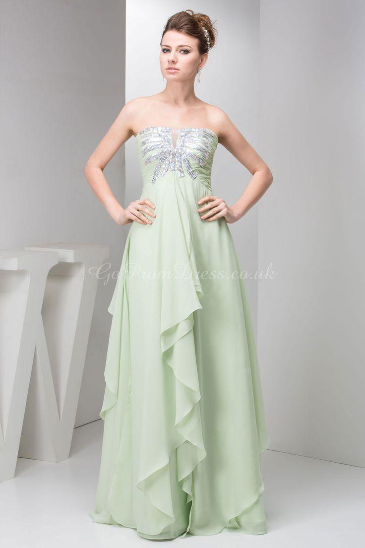 Seafoam Green Floaty Prom Dress All Dressed Up