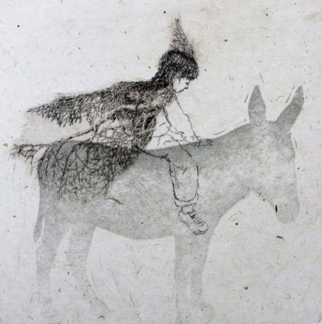 Taidelainaamo - Laura Pohjonen: Matkaaja