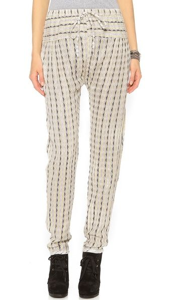 ace&jig fall13 bazaar pant in luxor at Shopbop
