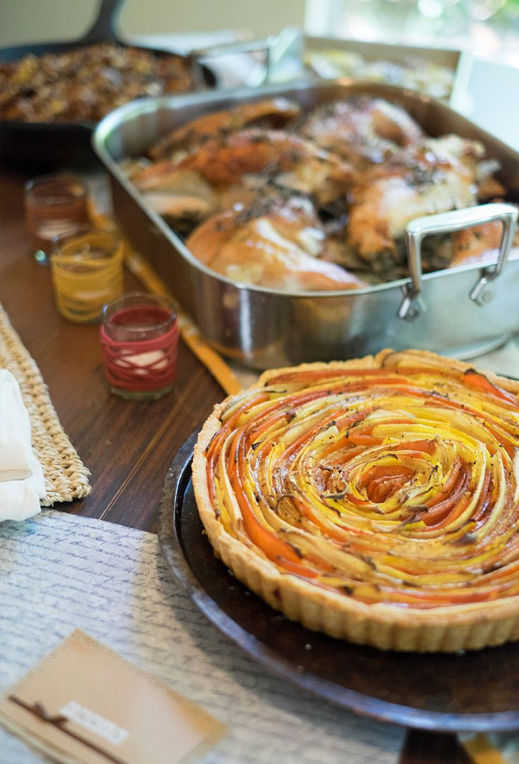 Prepare a Thanksgiving meal your whole family will love! Click in for easy-to-follow recipes like Herb Roasted Turkey, Apple and Pear Stuffing, Root Vegetable Savory Tart, Rosemary New Potato Smash and Homemade Pumpkin Pie. Use herbs and produce from your garden to keep it local and seasonal. You'll be enjoying a delicious meal in no time!