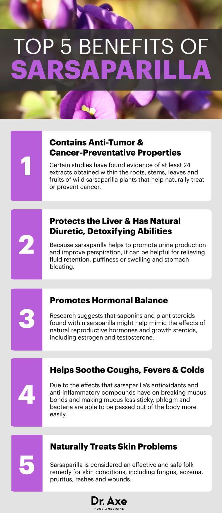 Sarsaparilla Uses, Sarsaparilla Benefits & Sarsaparilla Recipes - Dr. Axe