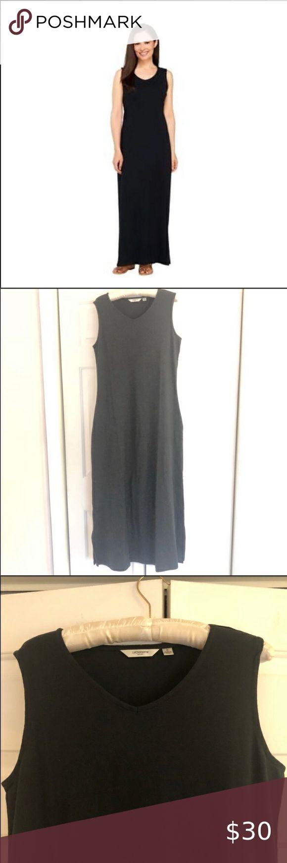 Liz Claiborne Black Ny New York V Neck Maxi Dress In 2021 Vneck Maxi Dress Liz Claiborne Dresses Maxi Dress [ 1740 x 580 Pixel ]