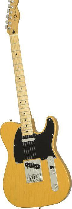 FenderStandard Telecaster FSR Ash Electric Guitar with Vintage Noiseless Pickups(via Musician's Friend)