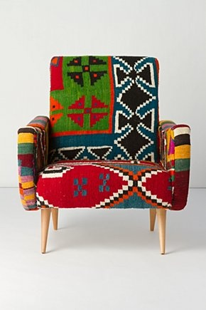antropologie. One-Of-A-Kind Berr Armchair, Bow-Ties
