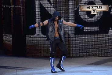 WWE debut of AJ Styles at the Royal Rumble 2016