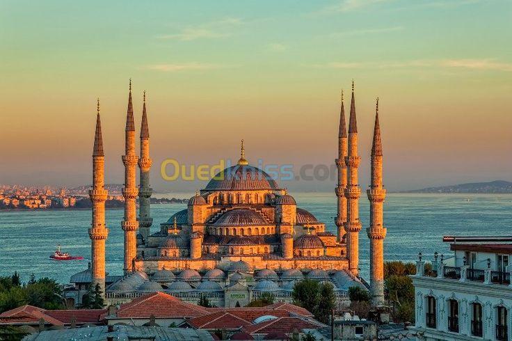 Prix : 88000 DA  | Catégorie : Voyage organisé | Départ : Alger Mois : Mars | Déstination  : Istanbul , Turquie .  | Hébergement : Hôtel 5 étoiles