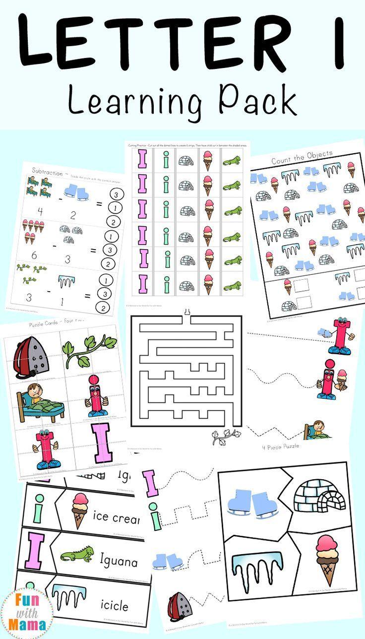 Letter I Worksheets Activities For Preschool In 2020 Letter I Worksheet Letter I Activities Preschool Letters [ 1288 x 736 Pixel ]