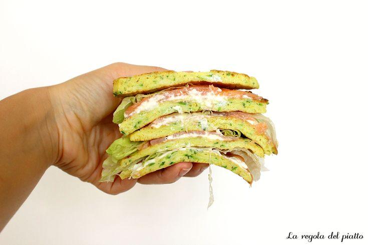 Pancake proteici di Zucchine | La Regola del Piatto