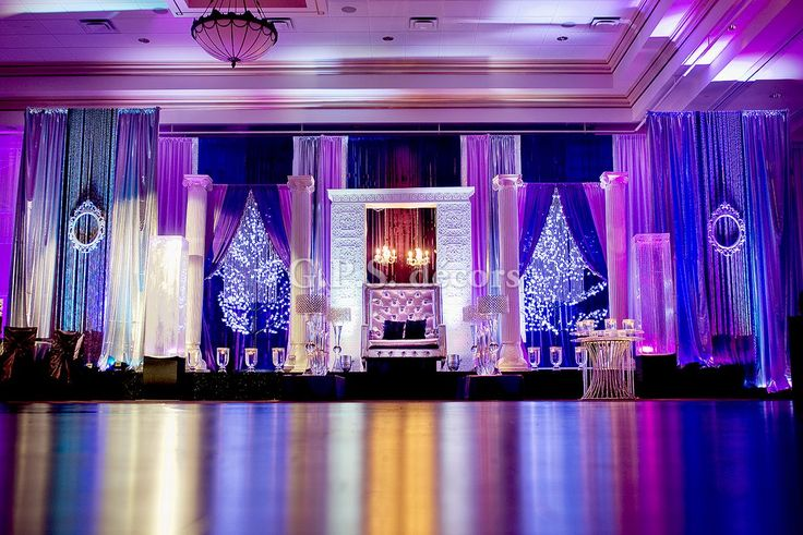 Wedding Backdrops With Uplighting Google Search