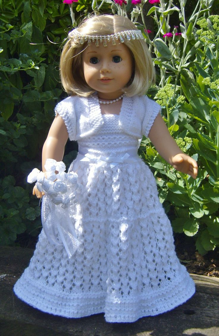 83 best no more naked dolls images on pinterest dolls american girl doll top down wedding dress bankloansurffo Image collections