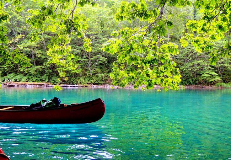 水質日本一の絶景!カヌーで味わう「支笏湖」クリスタルブルーの世界 | 北海道 | Travel.jp[たびねす]